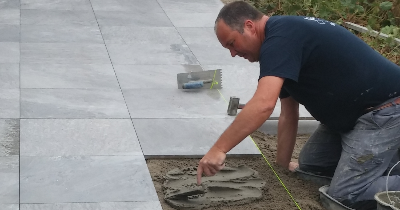 Vloeren vandorpe diensten - Model van het terras ...